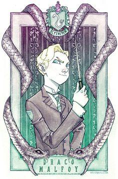 Draco Malfoy by Walter-Ostlie.deviantart.com on @deviantART