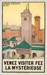 Author Vicaire Marcel Format Vertical Country Morocco Year of poster 1930 Fez Morocco, Visit Morocco, Morocco Travel, Africa Travel, Vintage Travel Posters, Vintage Ads, Tourism Poster, North Africa, North Europe