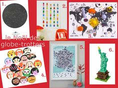Xmas gifts selection for globe-trotters kids