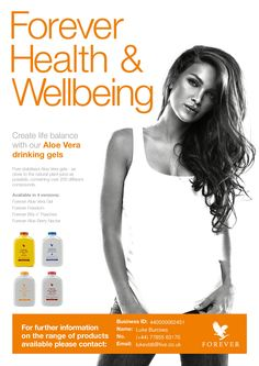 Health and wellbeing range. Contact us for details. Aloe Vera Gel Forever, Forever Living Aloe Vera, Forever Aloe Berry Nectar, Forever Freedom, Forever Living Products, Health And Wellbeing, Berries, Wellness, Pure Products