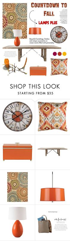 fall home with lampsplus by lacas liked on polyvore featuring interior