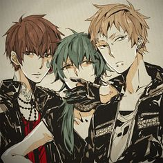 (DRAMAtical Murder) Some hot guys. xD