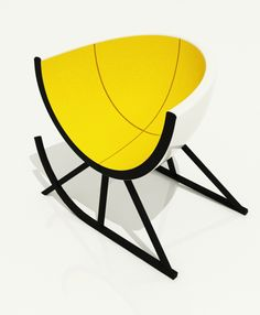 Egg Armchair by Andrey Dokuchaev