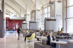 Tom Bradley International Terminal / Fentress Architects  LP9 - Mod Custom Wall mount