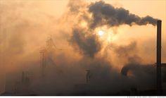 china pollution - by Wenqian Zhu