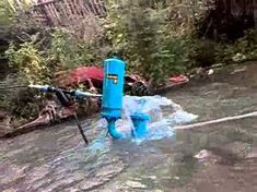 """How to Make a """"Water Ram"""" off-grid Water Pump, requires no electricity Bombeo Solar, Ram Pump, Hydraulic Ram, How To Make Water, Water Collection, Water Sources, Solar Panel System, Survival Skills, Homestead Survival"""