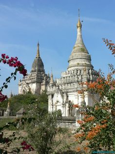 Bagan in Central Myanmar has about 2200 amazing Buddhist temples