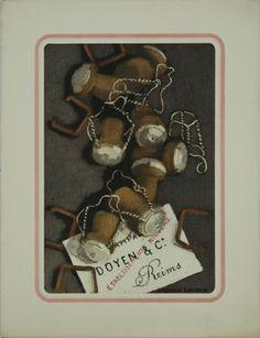 Suzanne Lalique, Des bouchons de Champagne, 1935. 30 x 23 cm.