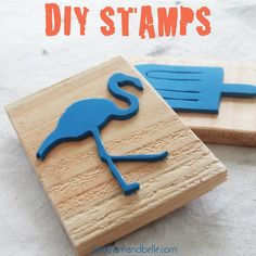 DIY CUSTOM FOAM STAMPS