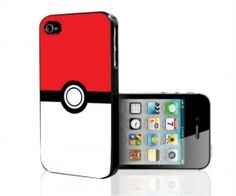 Pokemon Pokeball iPhone Case( $10.77) : Turn your phone into a pokeball with the pokemon pokeball iPhone case!