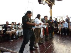 Pirate dance on Jean Laffite Dinner Cruise Pirates Dinner, Cruise Vacation, Vacation Ideas, Msc Cruises, What To Do Today, Cozumel Mexico, Tour Tickets, Royal Caribbean, Trip Advisor