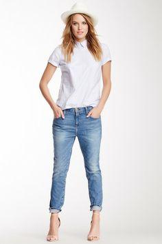 The Slouchy Stiletto Jean by Current/Elliott on @HauteLook