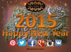 May every day of the New Year glow with good cheer & happiness for you and your family. <3 Happy New Year 2015..   Wishes from :   # Fazee Henna Art - Sri Lanka     77 2031822  #henna #mehendi #happynewyear #srilanka