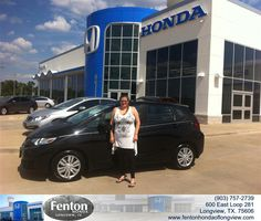 https://flic.kr/p/xkvJ8H | Congratulations Cindy on your #Honda #Fit from Brian Vermillion at Fenton Honda of Longview! #NewCar | www.deliverymaxx.com/?utm_source=FlickR&utm_medium=Be...