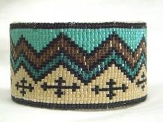 Thumbnail of Southwestern Beaded Cuff Bracelet 1752