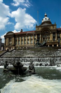 Victoria Square and Council House, Birmingham U.K.