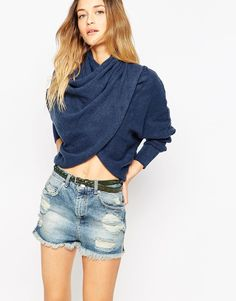 Image 1 of Free People Sugar Wrap Jumper