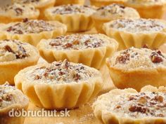 A makes these adorable Pecan Tarts even more delicious! Sponsored by Daisy Sour Cream Tart Recipes, Baking Recipes, Dessert Recipes, Dessert Ideas, Daisy Sour Cream, Pecan Tarts, Butter Tarts, Czech Recipes, Mini Desserts