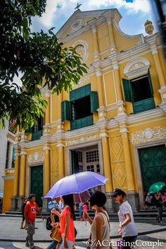 St Joseph's Seminary and Church in Senado Square, Macau