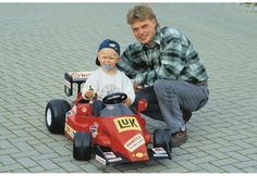 Kevin Magnussen tests an F1 car