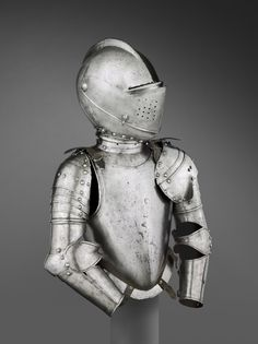 Armor for a Boy of About Seven, For Use in Foot Tourney Over the Barriers Made in northern Italy ca. 1580-1585 Philadelphia Museum of Art