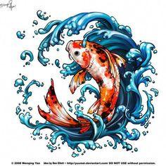 Waterproof Temporary Tattoo Sticker on body big arm red Koi carp tatto stickers flash tatoo fake tattoos for men Carpe Koi Tattoo, Pez Koi Tattoo, Tattoo Design Book, Koi Tattoo Design, Pisces Tattoos, Fish Tattoos, Dragon Tattoos, Tatoos, Sagrado Corazon Tattoo