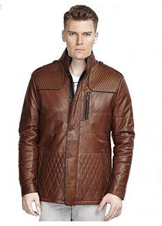 Devin Konyak Deri Mont / Brown leather jacket