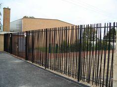 Clôture de jardin / à barreaudage / en métal / modulaire ROSEAU Jacot des Combes