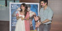 Ayesha Khanna and Harman Baweja promote Dishkiyaoon Bollywood Photos, Promotion, Coat, Fashion, Sewing Coat, Moda, La Mode, Coats, Fasion
