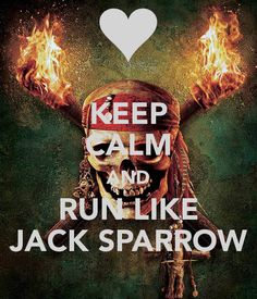 He has the best run ever. The only 'keep calm' I've actually liked…ever.