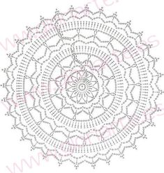 What do you know about crochet mandala pattern? It is a beautiful crochet pattern that can be adapted for creating a functional crochet item. Crochet Mandala is typical in which it has a circular shape and various colors of the… Continue Reading → Lampe Crochet, Crochet Doily Rug, Crochet Mandala Pattern, Crochet Headband Pattern, Granny Square Crochet Pattern, Crochet Baby Hats, Crochet Chart, Free Crochet, Crochet Patterns