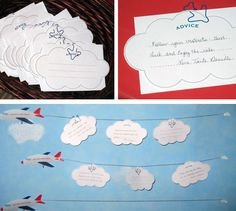 Bulletin board idea for bottom pic. Change info on clouds to student names.