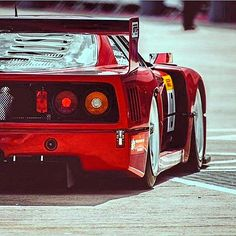 #Ferrari #F40 LM
