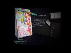 Voici une présentation de l'Insta'Pochette de Stampin'Up! disponible à partir du 2 Juin 2015 dans le catalogue annuel. Ma boutique en ligne Http://www.ninire...