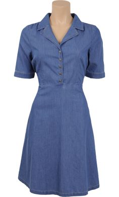 King Louie - Diner dress Chambray