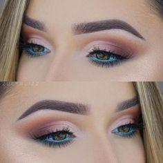 Super makeup tutorial blue eyeshadow cut crease 32 Ideas Super Make-up Tutorial Blue Eyeshadow Day Makeup, Eye Makeup Tips, Smokey Eye Makeup, Makeup Inspo, Eyeshadow Makeup, Makeup Inspiration, Beauty Makeup, Blue Eyeshadow, Makeup Ideas