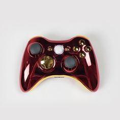 Red Gold Xbox 360 Controller, the ONLY way I'd play video games Ps4, Playstation, V Games, Xbox Games, Xbox 360 Controller, New Video Games, Nintendo, Toys For Girls, Cool Gadgets