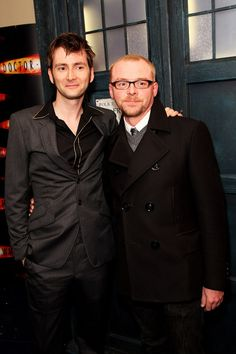 David Tennant simon pegg...love them both. AWSOME actors!!! Wish I was British.