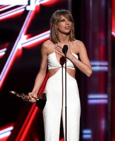 Taylor won the award for best album!