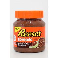 Hershey Reese Spreads Peanut Butter Choc Jar 13oz 8 units
