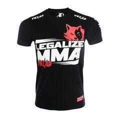 VSZAP LEGALIZE Wolf Series Retro MMA Boxing Short Sleeve  #T恤#T-shirt#Camiseta#Футболки#moylor