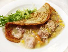 Denné menu Vranov | Ragú z kuracích stehien so zeleninou, zemiaková placka - reštaurácia Hotel Patriot*** #hotel #restauracia #dennemenu