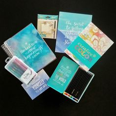 I usually get a lot of asks about stationery, pens, etc. That's why I wanted to show you some of the amazing products from Erin Condren. In case you really like planning, coloring and pretty stationery in general (like me), this is the shop for you. Inspirational quotes and beautiful design make the products special.