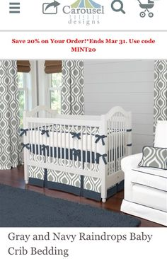 Cute for baby boy nursery