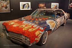 Here's a quirky museum for you -- the Art Car Museum in Houston, Texas.
