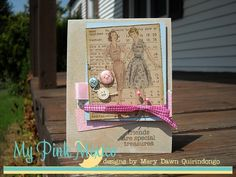 Friends are Special Treasures Card by Mary Dawn Quirindongo