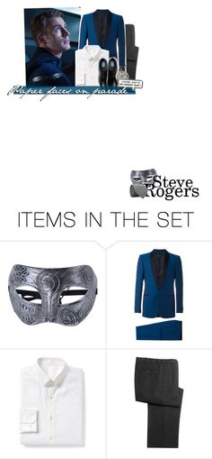"""""""*:・゚✧ Turn around, there's another mask behind you"""" by my-heart-is-art ❤ liked on Polyvore featuring art"""