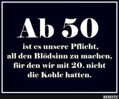 Ab 50 ist es unsere