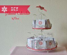 DIY Advent Calendar Etagère