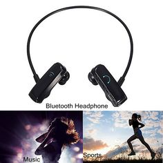 Handfree Wireless Bluetooth Mic Sports Stereo Headphone